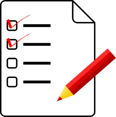 checklist ritregistratie