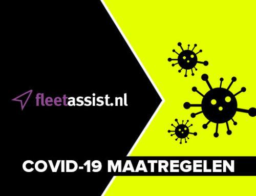 Maatregelen Fleetassist Corona / Covid-19 virus